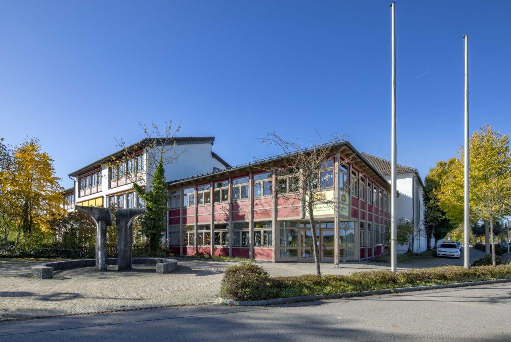Ansicht der Sonnenschule/ Grundschule Sankt Georgen